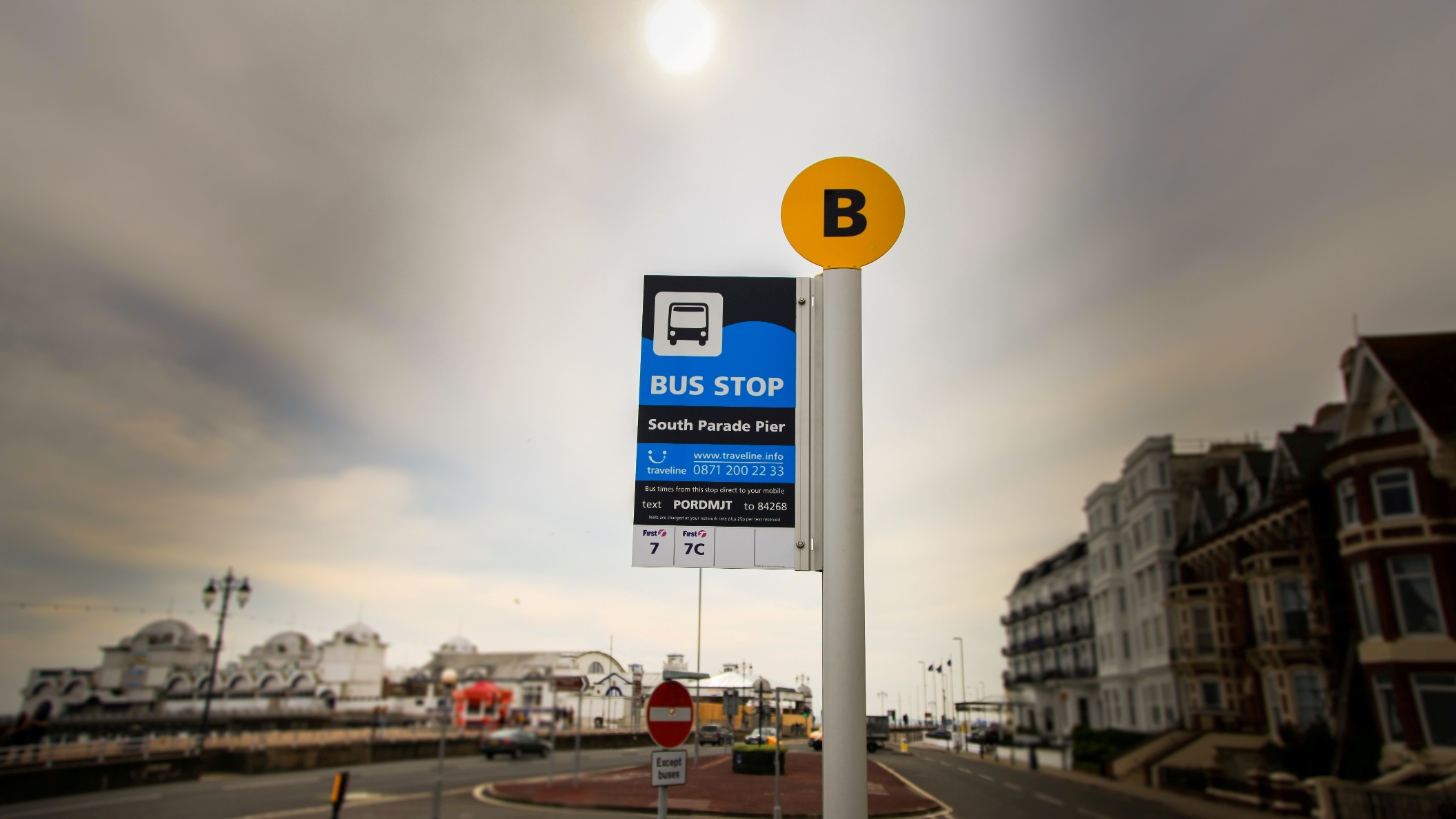 making bus stop infrastructure and information look fantastic